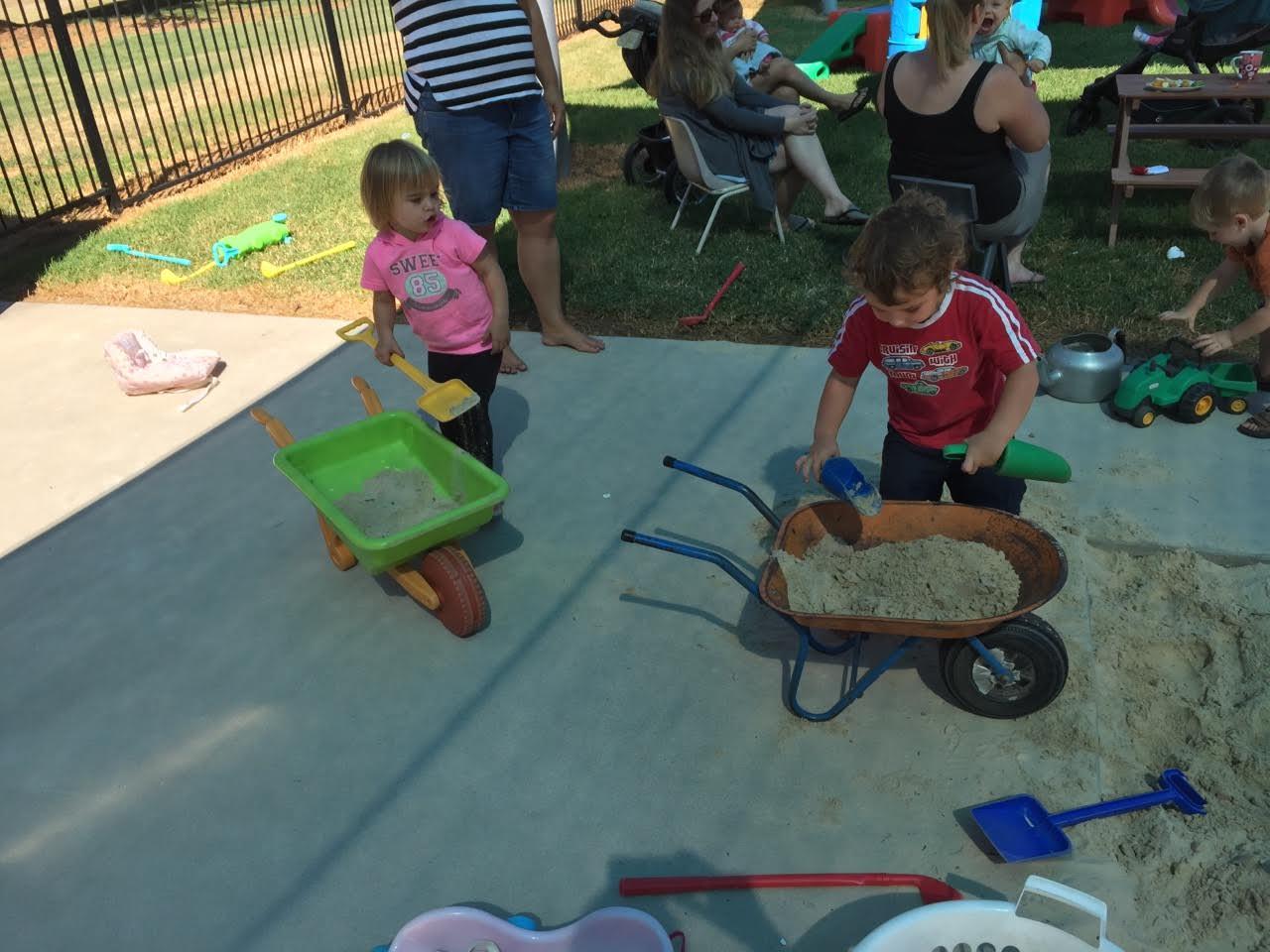 Children at Mitta Valley Children Center
